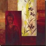 Buda II Reproducción en lienzo de la lámina por  Verbeek & Van Den Broek