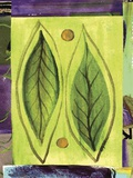 Leaf II Print on Canvas by Najah Clemmons