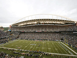 Seattle Seahawks - Sept 24, 2012: CenturyLink Field Photographic Print by Stephen Brashear