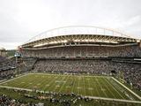 Seattle Seahawks - Sept 24, 2012: CenturyLink Field Photographic Print by Stephen Brashear