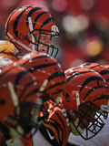Cincinnati Bengals - Sept 23, 2012: Andy Dalton Photographic Print by Evan Vucci