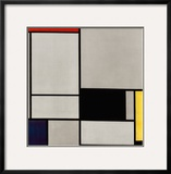 Composition No. 2 Print by Piet Mondrian