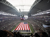 Dallas Cowboys - Sept 23, 2012: Cowboys Stadium Prints by Tim Sharp