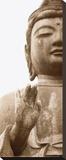 Buddha I Stretched Canvas Print by Boyce Watt