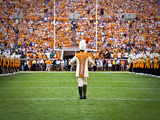 Tennessee Titans: Pride of the Southland Marching Band Performs in Neyland Stadium Photographic Print
