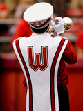 University of Wisconsin: Wisconsin Band Member at Camp Randall Photographic Print