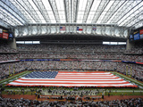 Houston Texans - Sept 9, 2012: Reliant Stadium Prints by Dave Einsel