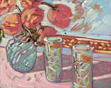 Still Life With Cooler Print on Canvas by Diane Neale