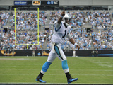 Carolina Panthers - Sept 16, 2012: Cam Newton Plakater av Rainier Ehrhardt
