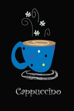 Cappuccino Print on Canvas by Najah Clemmons