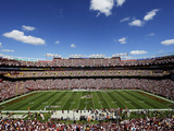 Washington Redskins - Sept 23, 2012: FedEx Field Photographic Print by Alex Brandon
