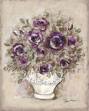 Lavender Blossoms ll Print on Canvas by Peggy Abrams
