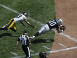 Oakland Raiders - Sept 23, 2012: Darren Mcfadden Photo av Marcio Jose Sanchez