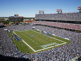 Tennessee Titans - Sept 23, 2012: LP Field Bilder av Joe Howell