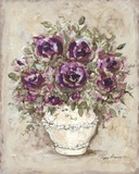 Lavender Blossoms l Print on Canvas by Peggy Abrams