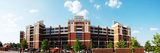 Oklahoma State University: Outside Boone Pickens Stadium Panorama Fotografisk tryk