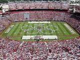 University of South Carolina: the Band Preforms Pregame in Williams-Brice Stadium Photo