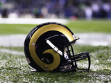 St. Louis Rams - Dec 12, 2011: St. Louis Rams Helmet Photo by Ted S. Warren