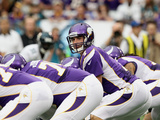 Minnesota Vikings - Sept 9, 2012: Christian Ponder Photo af Genevieve Ross