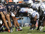 Chicago Bears - Sept 9, 2012: Bears v Colts Photographic Print by Nam Y. Huh
