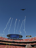 Kansas City Chiefs - Sept 9, 2012: Arrowhead Stadium Flyover Photo by Orlin Wagner