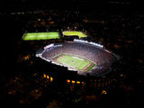 Florida State University: Lights Shine at Doak Campbell Stadium Photographic Print