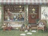 Adopt-A-Bear Print on Canvas by Janet Kruskamp