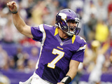 Minnesota Vikings - Sept 23, 2012: Christian Ponder Photo af Genevieve Ross