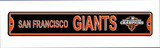 San Francisco Giants World Series Champions 2012 Steel Sign Wall Sign