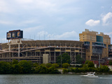 Tennessee Titans: Neyland Stadium and the Tennessee River Photographic Print