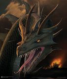 Annihilator (Dragon) Art Poster Print Prints