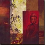 Buddha I Stretched Canvas Print by  Verbeek & Van Den Broek