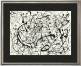 No. 14 (Gray) Posters by Jackson Pollock