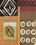 Tribal Collage III Print on Canvas by Najah Clemmons