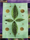 Leaf III Print on Canvas by Najah Clemmons