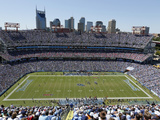 Tennessee Titans - Sept 9, 2012: LP Field Bilder av Joe Howell