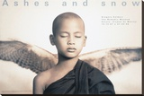 Winged Monk, Mexico City Stretched Canvas Print by Gregory Colbert