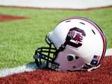 University of South Carolina: South Carolina Helmet Photographic Print
