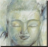 Meditation Stretched Canvas Print by Elvira Amrhein