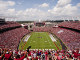 University of South Carolina: South Carolina: Williams-Brice Stadium Endzone View Fotografisk tryk