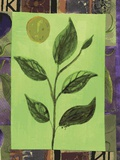 Leaf IV Print on Canvas by Najah Clemmons