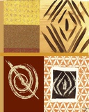 Tribal Collage II Print on Canvas by Najah Clemmons