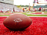 University of Arkansas: Arkansas Football Sits at Razorback Stadium Photo