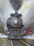 Night Run Print on Canvas by George Williamson