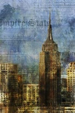 Empire Print on Canvas by Kay Daichi
