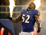 Baltimore Ravens - Sept 23, 2012: Ray Lewis Photographic Print by Nick Wass