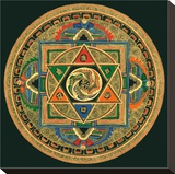 Om II Stretched Canvas Print