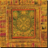 Mandala I Stretched Canvas Print by Frédérick Candon