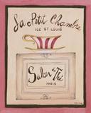 La Petit Chambre Print on Canvas by Katharine Gracey