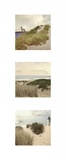 Beach Trio I Print on Canvas by Judy Mandolf